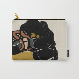 Black Hair No. 10 Carry-All Pouch
