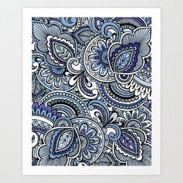 Ornamental Mandala Art Print