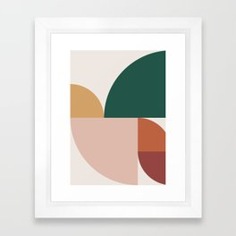 Abstract Geometric 11 Framed Art Print