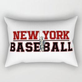Baseball In New York Rectangular Pillow