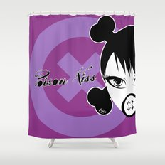 POISON KISS PURPLE Shower Curtain