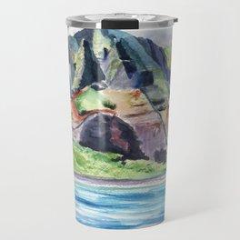 Majestic Na Pali Coast Travel Mug