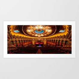 The Fabulous Fox Theatre Art Print