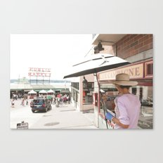 Painting Pike Canvas Print