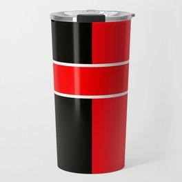 Team Colors 6...red,black,white Travel Mug