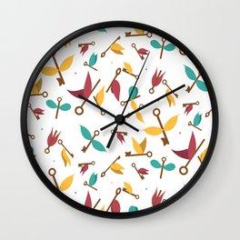 flying keys Wall Clock
