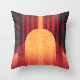Pan -Equatorial Ridge Throw Pillow