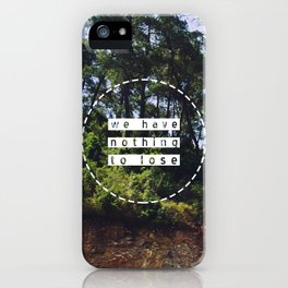 Bus view iPhone Case