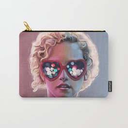 Electrick Girl Carry-All Pouch