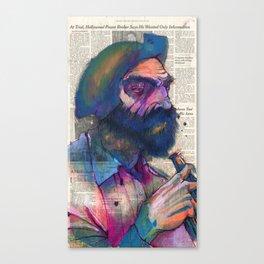 A Regular I See at the Bar Canvas Print