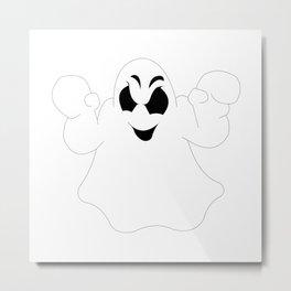 Halloween Ghost Metal Print