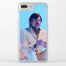 Oliver Bird Clear iPhone Case
