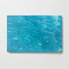 Swim Metal Print