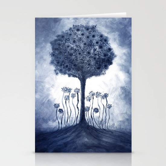 Energy from the tree Stationery Cards