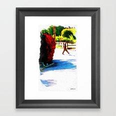 Passing Stranger Framed Art Print