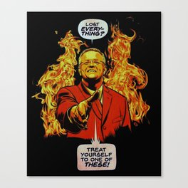 MORRISON FIRE treat your self to the one these Canvas Print