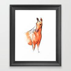 NICOLE Framed Art Print