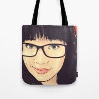 geek Tote Bags featuring Geek by FalcaoLucas