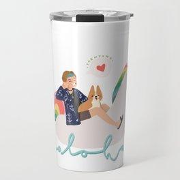 Bon Voyage Taehyung Travel Mug