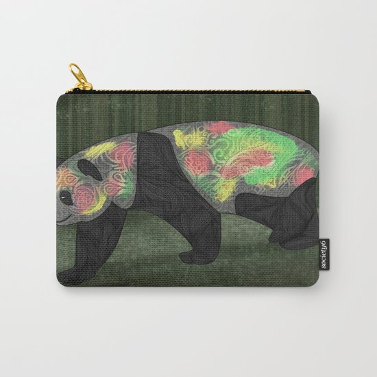 Panda Night Carry-All Pouch