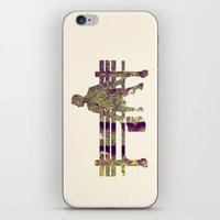 forrest iPhone & iPod Skins featuring Forrest by Ivan Guerrero