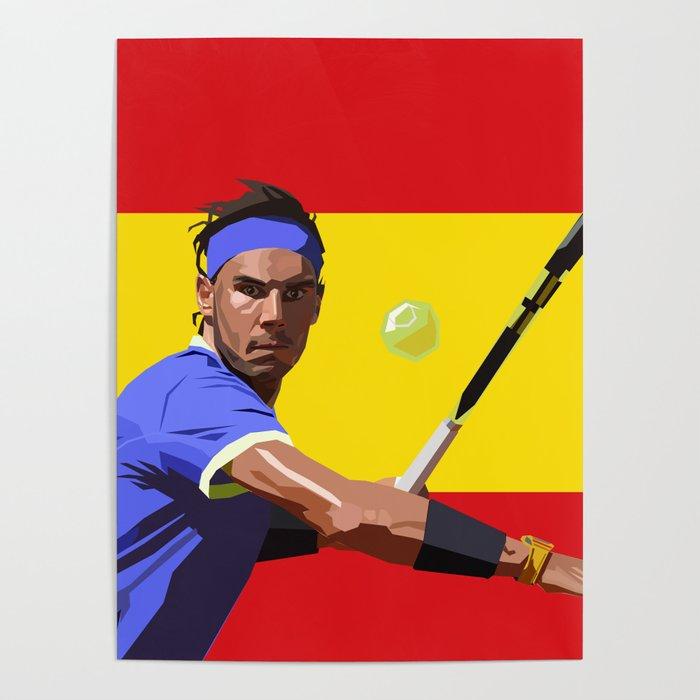 Rafael Nadal | Tennis Poster