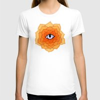chakra T-shirts featuring Sacral Chakra by DuckyB