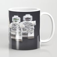 minions Mugs featuring Halloween Practice by InkBlot