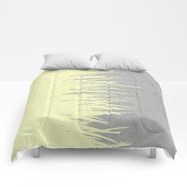 Concrete Fringe Yellow Comforters