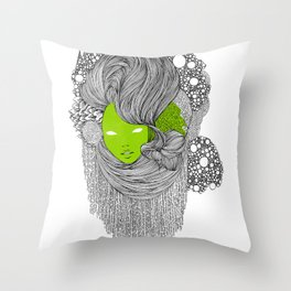 oOo Throw Pillow