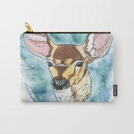 Spring Fawn Carry-All Pouch