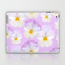 Pansies Dream #2 #floral #pattern #decor #art #society6 Laptop & iPad Skin