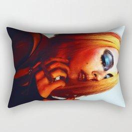 Rainbow Bowie  Rectangular Pillow