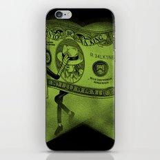 The Real King iPhone & iPod Skin