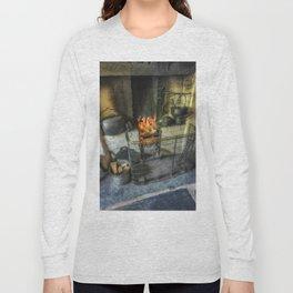 Olde Kitchen Fire Long Sleeve T-shirt