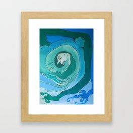Frane Framed Art Print