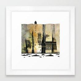 hidden place Framed Art Print