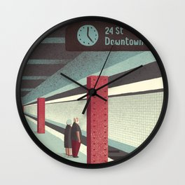 Day Trippers #3 - Waiting Wall Clock