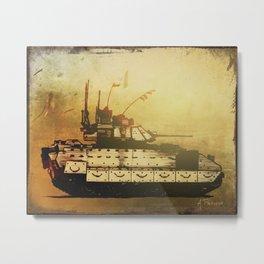 Bradley Fighting Vehicle Metal Print