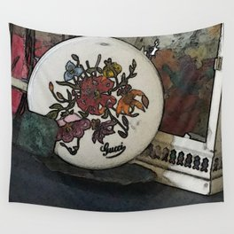 Sketched out Decor Wall Tapestry