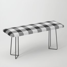 Buffalo Check - black / white Bench
