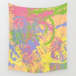 Complex 1   Soft Pastel Abstract Art   Pastel Wall Art Wall Tapestry
