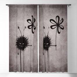 Evil Flower Bug Blackout Curtain