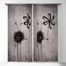Evil Flower Bug Blackout Curtain