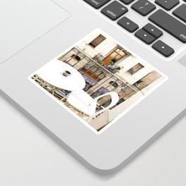 Barcelona balcony Sticker