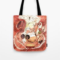 bouletcorp Tote Bags featuring In Utero by Bouletcorp