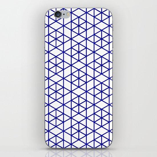 Karthuizer Blue & White Pattern iPhone & iPod Skin