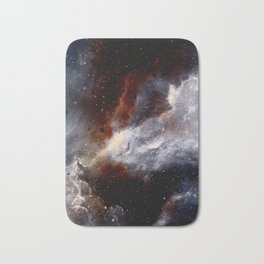 Dust, hydrogen, helium and other ionized gases Bath Mat