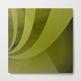 Eleganza 07,green Metal Print