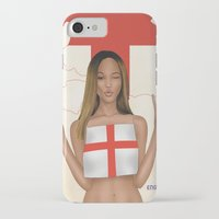 england iPhone & iPod Cases featuring England by Kingdom Of Calm - Print On Demand